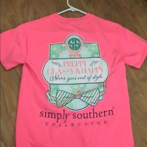 Simply southern gorgeous pink Tshirt